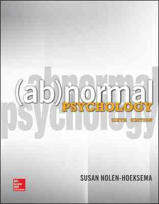 Abnormal psychology /