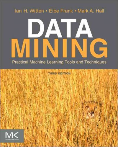 Data mining:practical machine learning tools and techniques