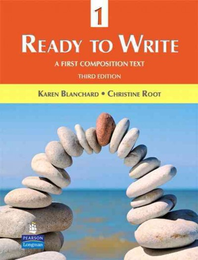 Ready to write 1 : a first composition text
