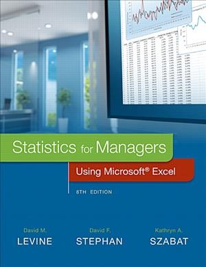 Statistics for managers using Microsoft Excel /