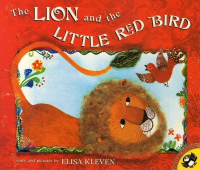 The lion and the little red bird 封面