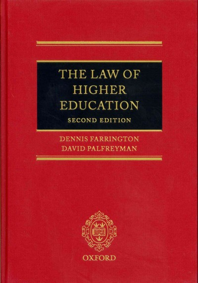 The law of higher education /