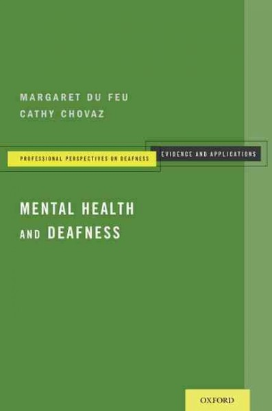 Mental health and deafness /