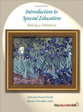 Introduction to special education : making a difference /