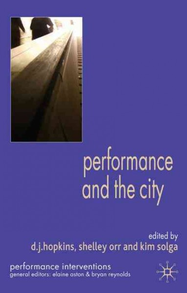 Performance and the city /