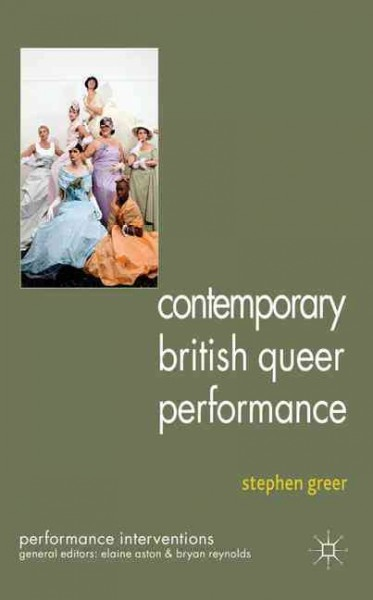 Contemporary British queer performance /