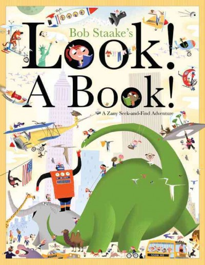 Look! A book! : [a zany seek-and-find adventure] 書封