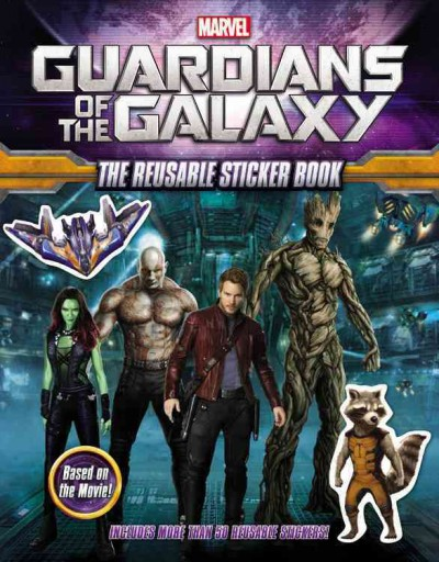 Marvel`s Guardians of the Galaxy: The Reusable Sticker Book星際異攻隊貼紙書