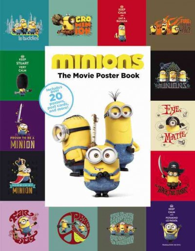 Minions:The Movie Poster Book 小小兵電影海報書