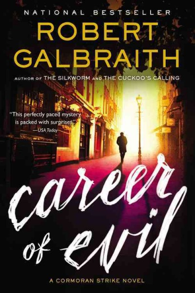 Cormoran Strike Series 3:Career of Evil 邪惡事業