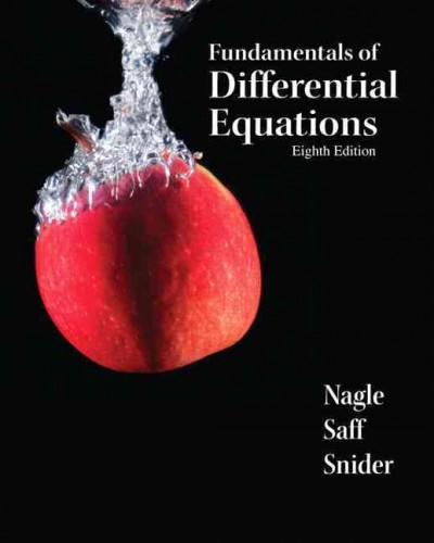 Fundamentals of differential equations /