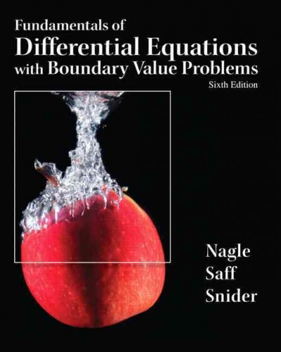 Fundamentals of differential equations and boundary value problems /