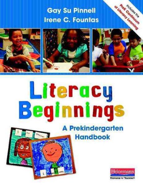 Literacy beginnings : a prekindergarten handbook /