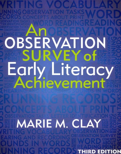 An observation survey of early literacy achievement /