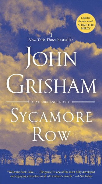 Sycamore Row : : a novel