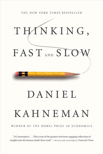 Thinking  Fast and Slow 快思慢想(2013年平裝版)