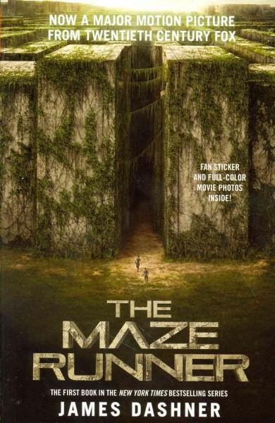 The Maze Runner (MTI) 移動迷宮1(電影封面)