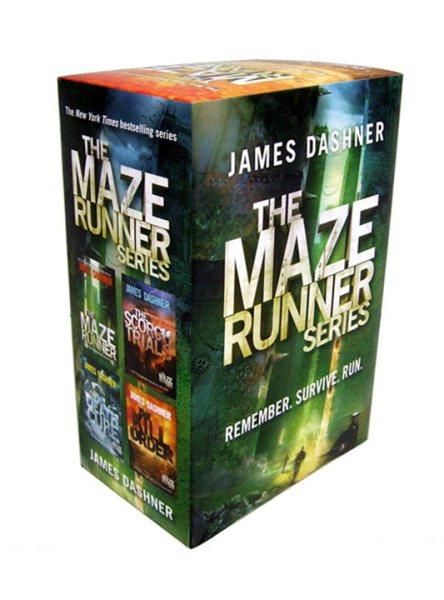 The Maze Runner Boxed Set 移動迷宮套書1-3含前傳