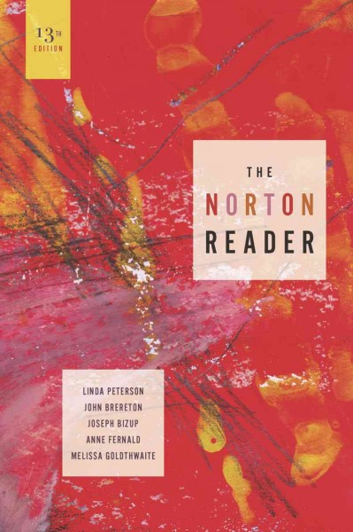 The Norton reader : an anthology of nonfiction /
