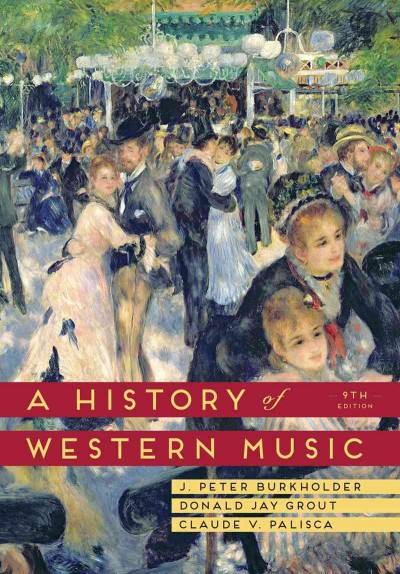 A history of western music /