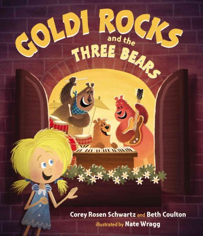 Goldi Rocks and the three bears 封面