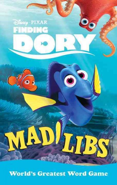 Finding Dory:Mad Libs 海底總動員2填字遊戲書