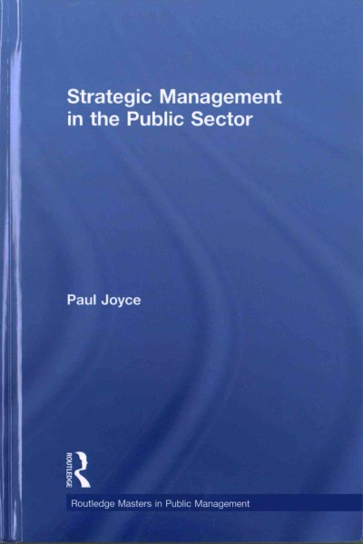 Strategic management in the public sector /