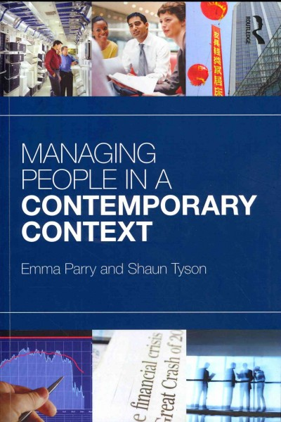 Managing people in a contemporary context /