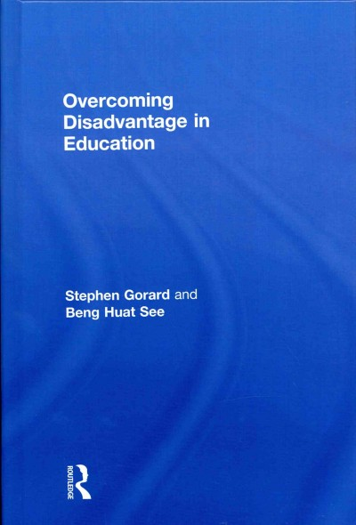Overcoming disadvantage in education /
