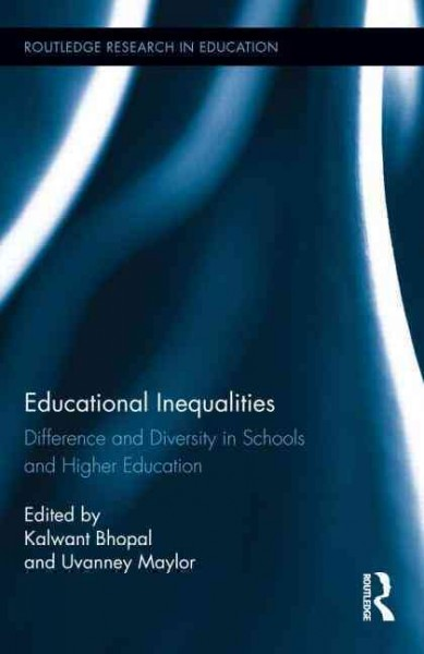Educational inequalities : difference and diversity in schools and higher education /
