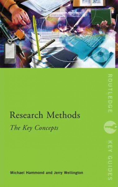 Research methods : the key concepts /