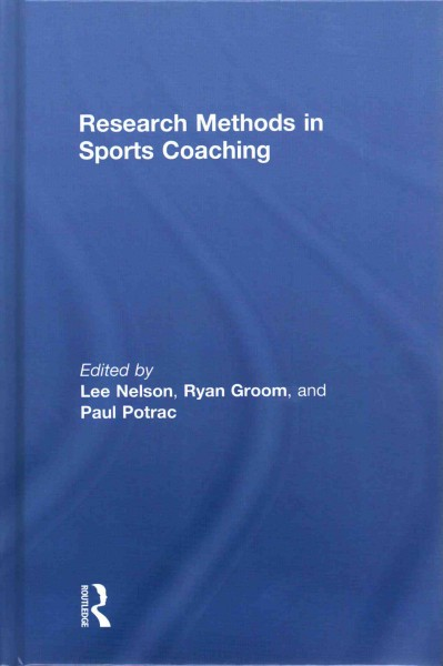 Research methods in sports coaching /