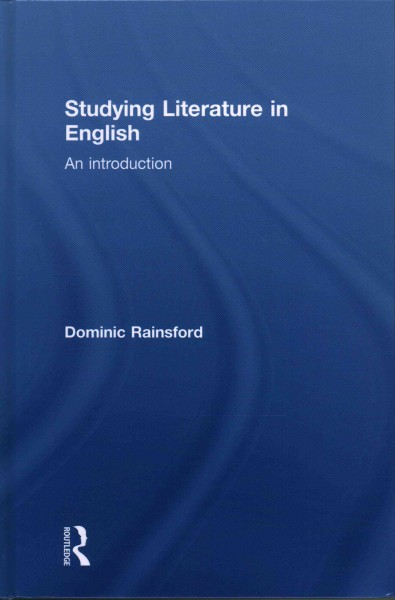 Studying literature in English : an introduction /