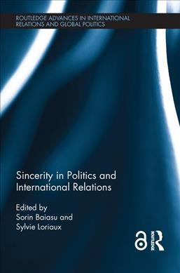 Sincerity in Politics and International Relations