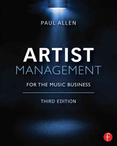 Artist management for the music business /