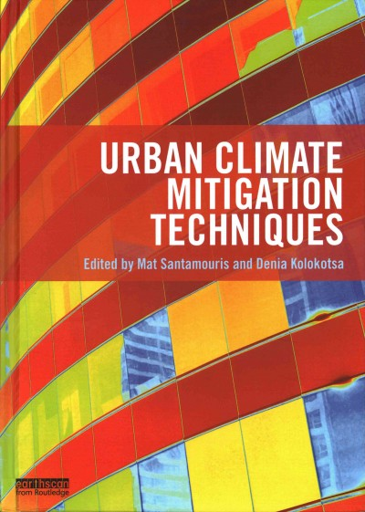 Urban climate mitigation techniques /
