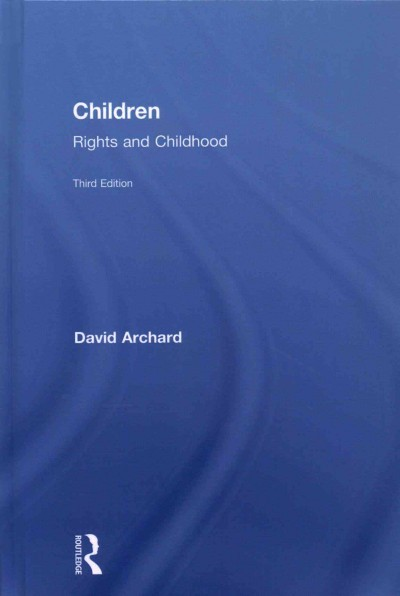 Children : rights and childhood /