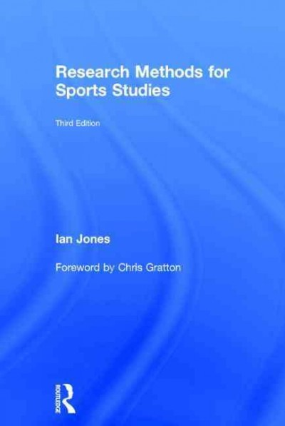 Research methods for sports studies /