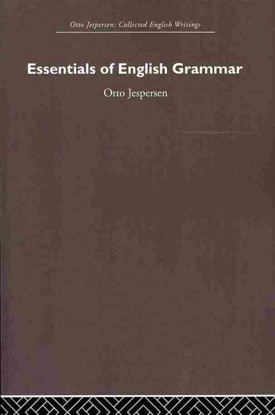 Essentials of English grammar /