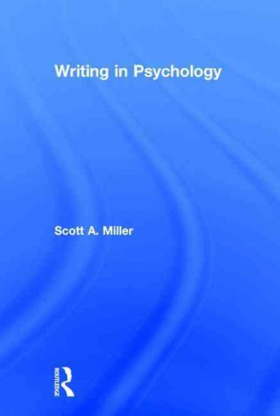 Writing in psychology /