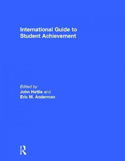 International guide to student achievement /