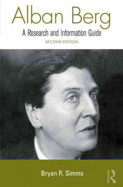 Alban Berg : a research and information guide /