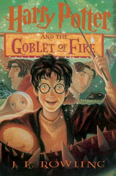 Harry Potter and the Goblet of Fire (Harry Potter #4)火盃的考驗