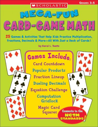 Mega-fun card-game math : grades 3-5 /