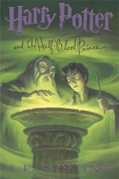 Harry Potter and the Half-Blood Prince (Harry Potter #6) 混血王子的背叛