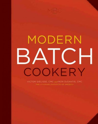 Modern batch cookery /