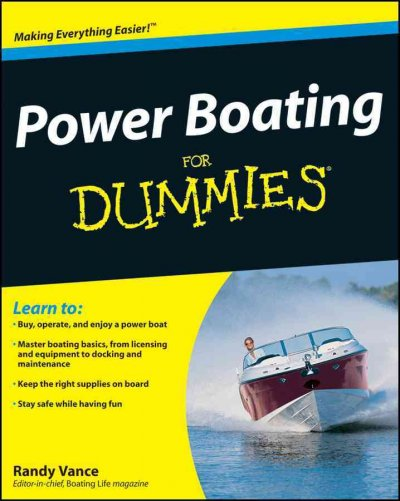 Power boating for dummies /