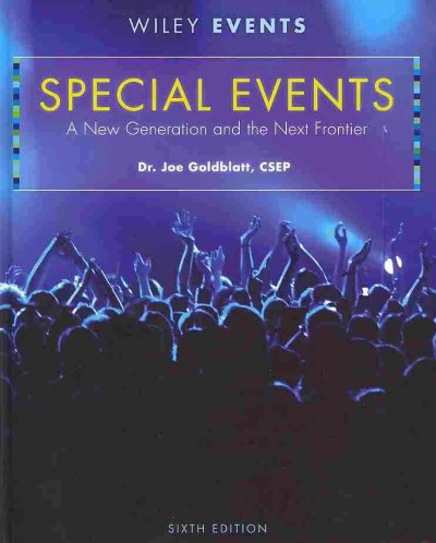 Special events : a new generation and the next frontier /