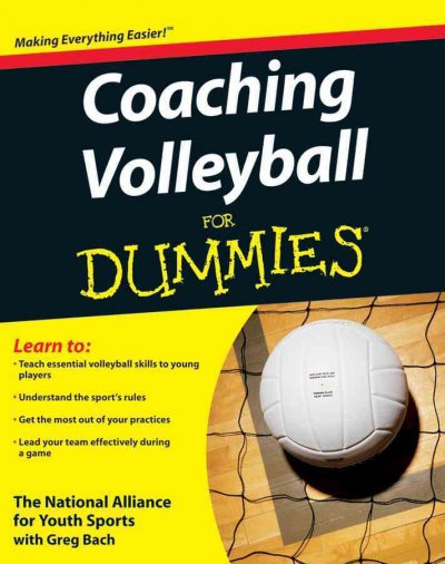 Coaching volleyball for dummies /