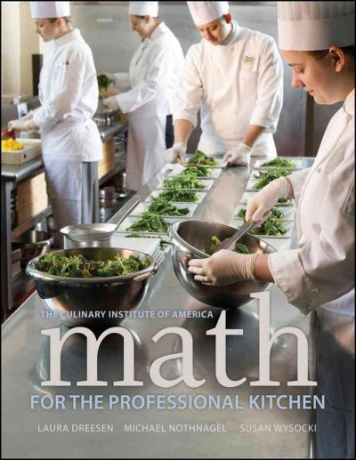 Math for the professional kitchen /